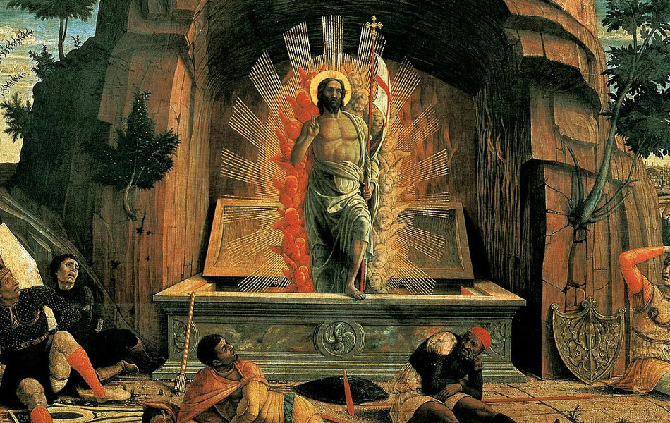La Résurrection, d'Andrea Mantegna