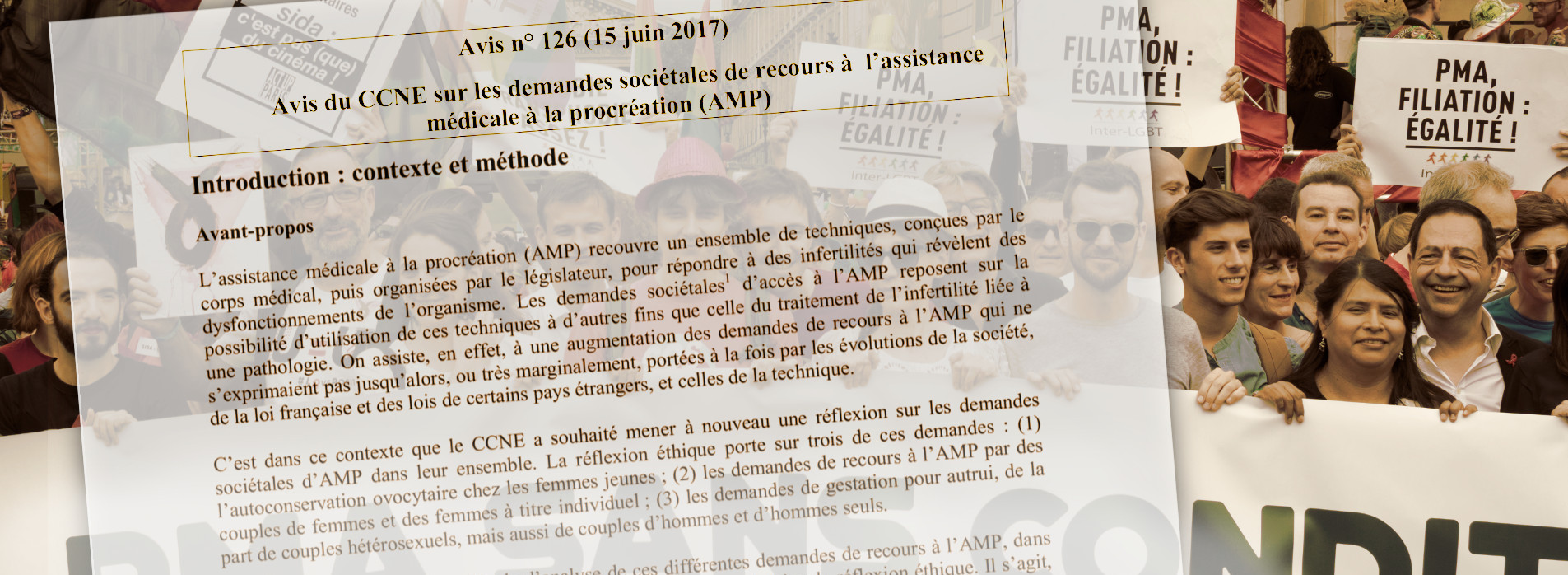 PMA : un crime contre l'enfant