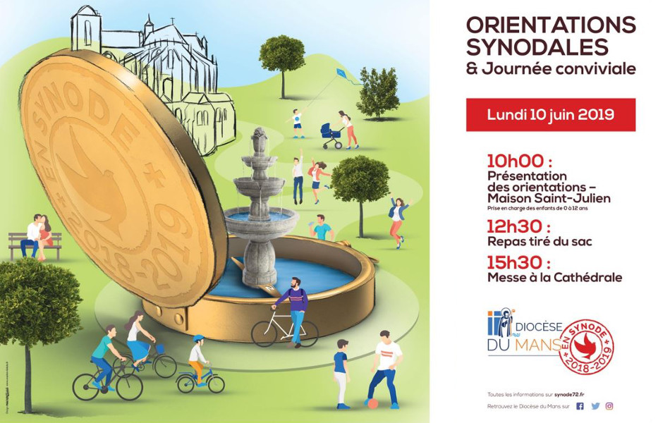 Affiche des orientations synodales