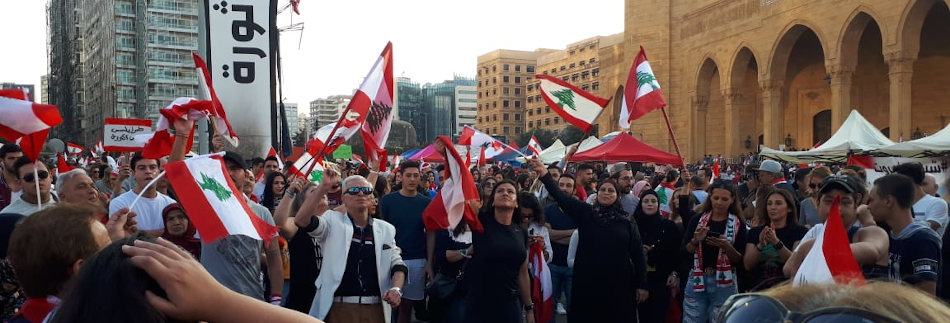 Manifestation au Liban